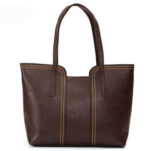 Women Retro Tassel Handbag Casual Tote
