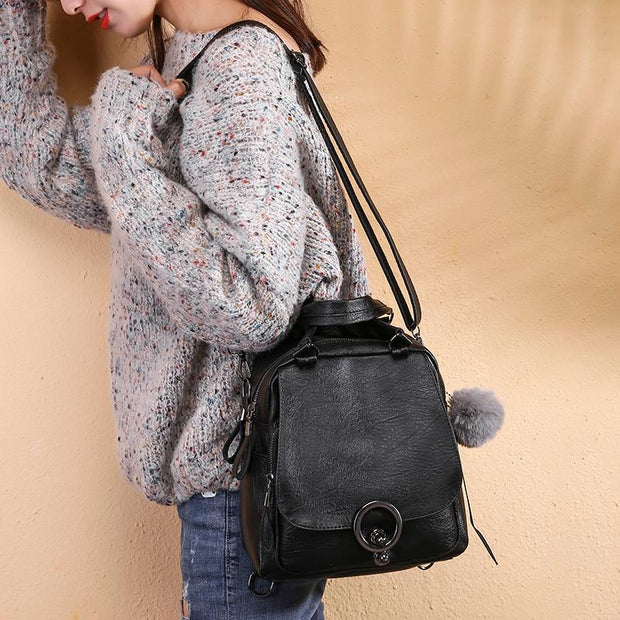 Pierrebuy _ Female Casual Multifunctional Backpack_designer bags