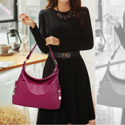 Multi Pocket Soft Handbag