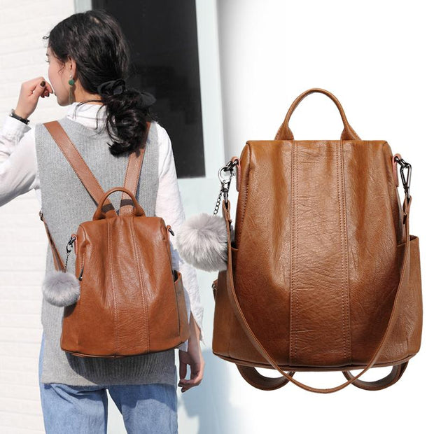 Women's Casual Anti-Theft Backpack