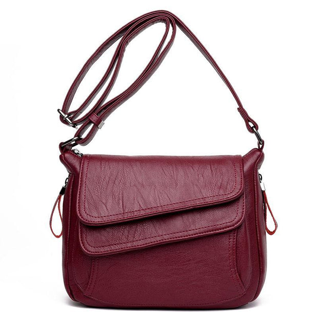 Women Pockets Flap Crossbody Bags
