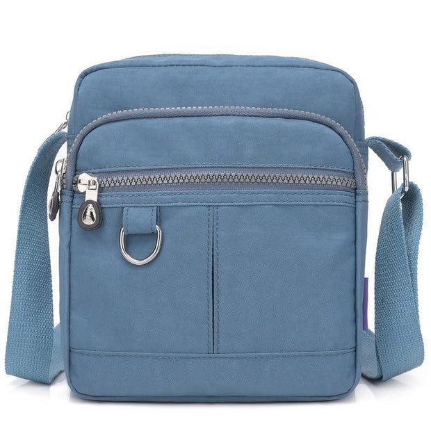 Waterproof Nylon Messenger Bag Shoulder Bag