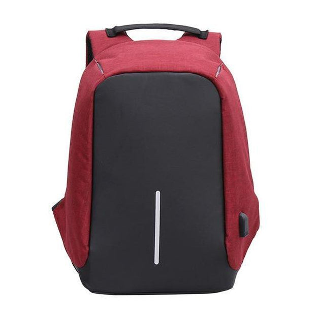 Pierrebuy _ Anti Theft Laptop Notebook Backpack Bag Travel Bag With External USB Charging Port 110112_designer bags