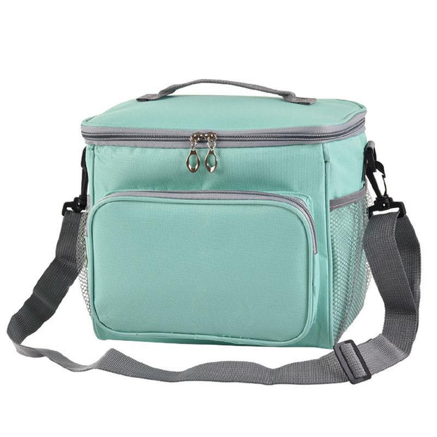 Large Capacity Unisex Solid  Lunch Bags