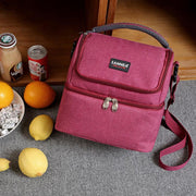 Oxford Waterproof Lunch Bag Insulation Picnic Bags