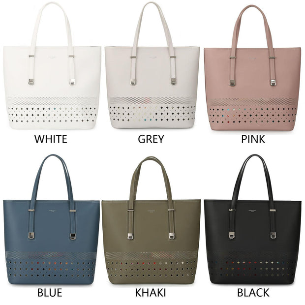 Pierrebuy _ 2Pcs Capacity Women Hollow Out Totes_designer bags