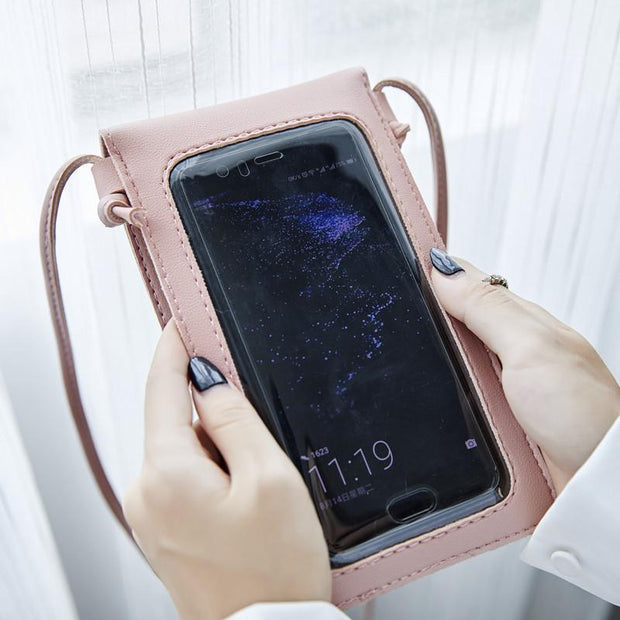 Women Clear Window&Hollow Phone Bags