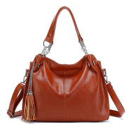 Pierrebuy _ Casual Women Large Capacity Tassel Handbags_designer bags