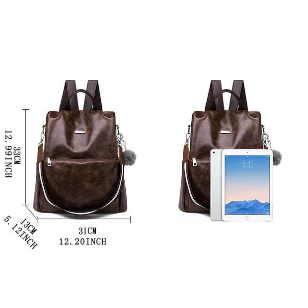 Multifunction Anti-theft Large Capacity Women Backpacks