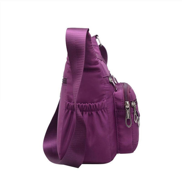 Pierrebuy _ Casual Waterproof Oxford Women Shoulder Bag Solid Female Crossbody Bags 120146_designer bags