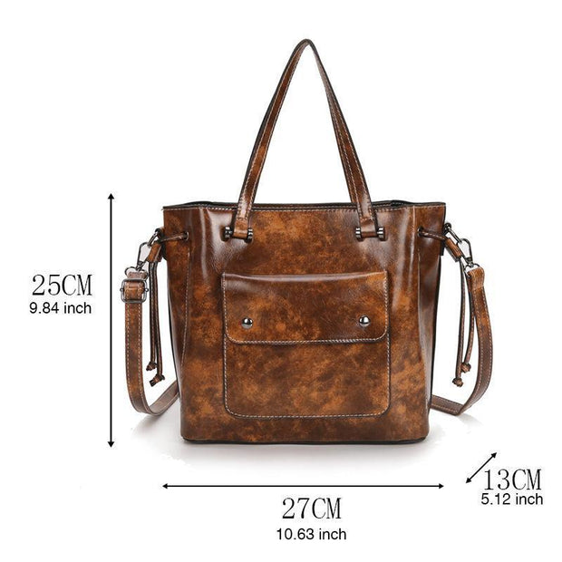 Women Fashion Large Capacity Shoulder Handbag