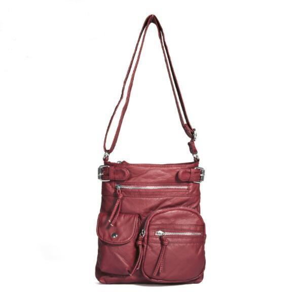 Multi-pocket Women Cross-body Bag
