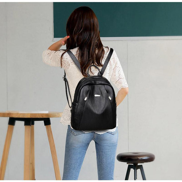 High Quality Solid Daily Travel Backpack