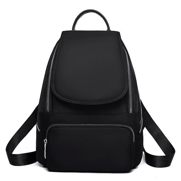 Casual Plain Large Capacity Daily Travel Backpack