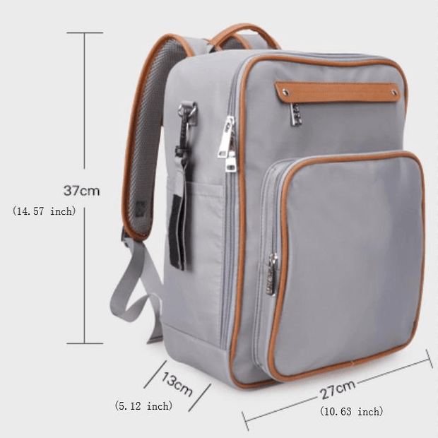 Large Capacity Stitching Daily Mummy Bag Backpack