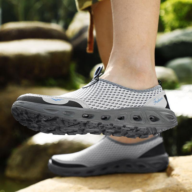 Men Honeycomb Mesh Quick Drying Beach Shoes