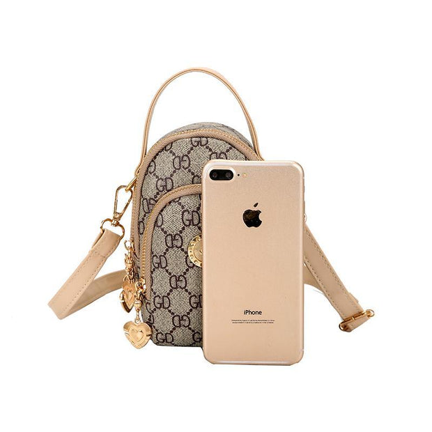 Multi-Compartment Mini Portable Phone Bag
