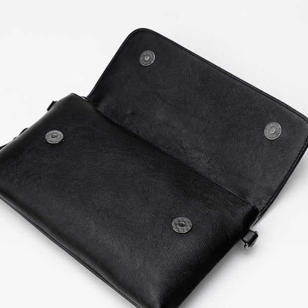 Soft Leather Crossbody Bags Clutch Bag