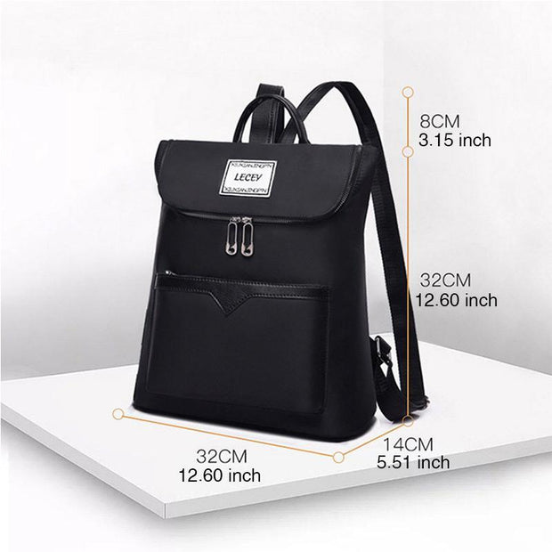 Large Capacity Multifunction Solid Backpack