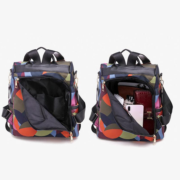 Multifunction Anti-theft Large Capacity Oxford Backpack