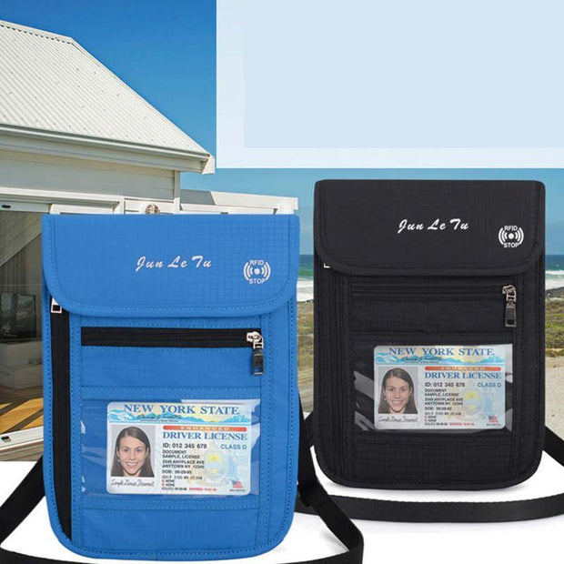 RFID Multi-Pocket Passport Package Crossbody Bags(Any 2 get 10% off by code: BUY2)
