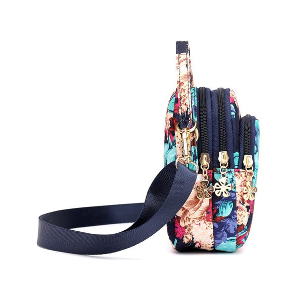 Floral Zipper Handbag Crossbody Phone Bag(Buy 2 get -10% by code:BUY2)