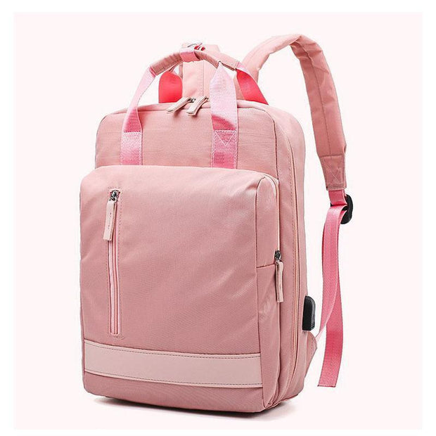 Water-resistant Large Capacity USB Charging Port Backpack