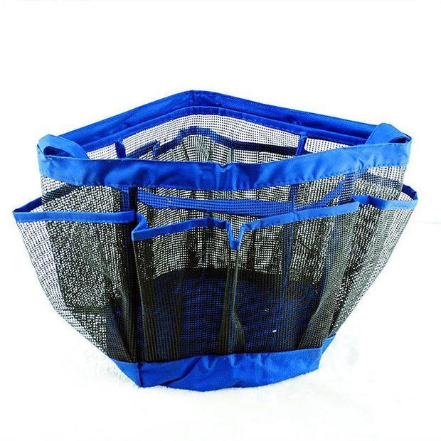 Shower caddy double portable bathroom storage basket shower basket swimming bag wash bath cosmetic(Any 2 get 10% off by code: BUY2)