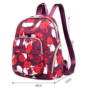 Printing Large Capacity Backpack Shoulder Bag