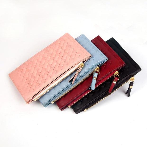 Multi-slot Solid Short Wallet