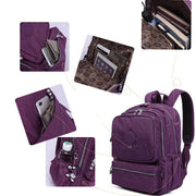 Waterproof Multi-pocket School Travel Backpack