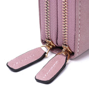 Women Solid Card Bag Phone Bag Crossbody Bag