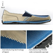 Men's Canvas Comfortable Breathable Walking Shoes