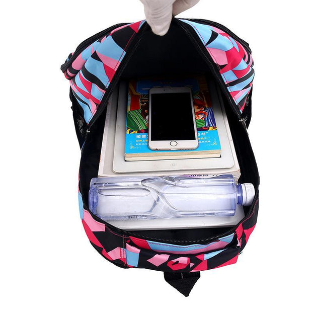 Printing Large Capacity Casual Backpack