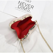 Mini Heart Shape Chic Chain Bag