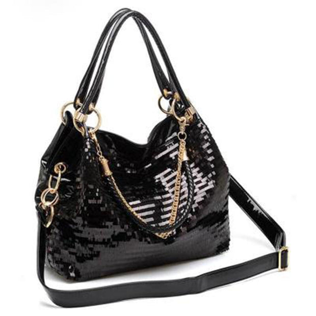 Fashion Sequin Crossbody Shoulder Handbag
