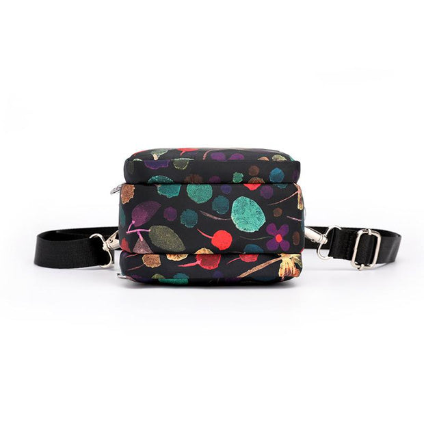 Waterproof Floral Lightweight Phone Bag Shoulder Bag