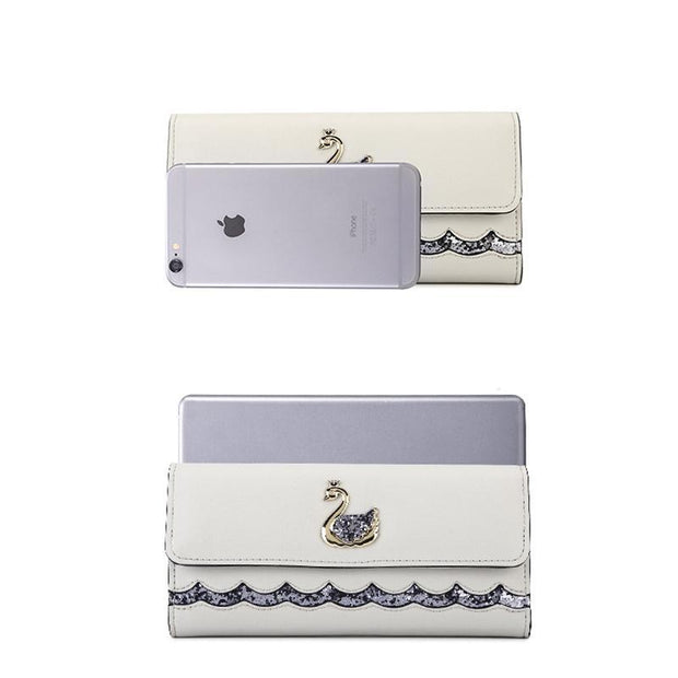Korean Women's Large Capacity Folding Wallet