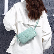 Ins canvas bag female 2019 new wave Korean version of the wild Messenger bag female bag simple 134634