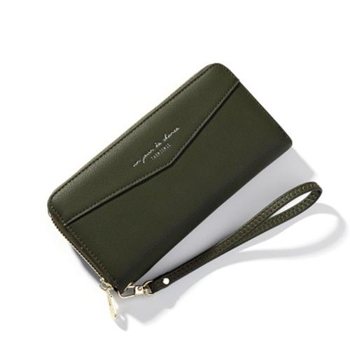 Wrist bag Korean version of large capacity long mobile phone purse lady hand bag 134890