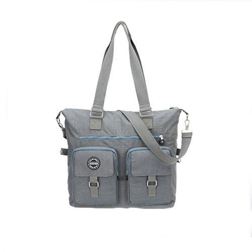 Nylon travel bag with one shoulder 134906