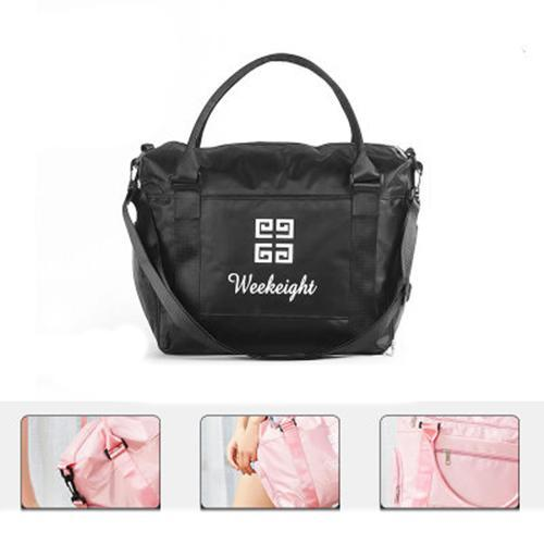 One-shoulder yoga bag portable fitness bag dirty clothes dry and wet separation bag travel clothing 134791