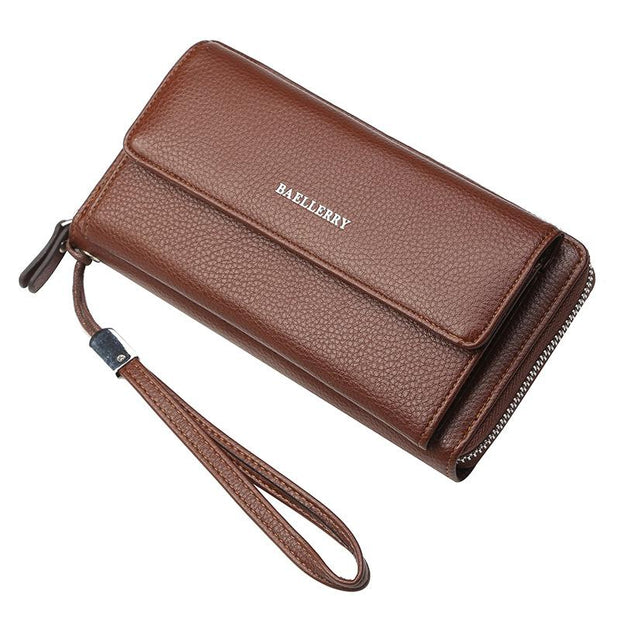 Large Capacity Multi-card Men Long Wallet