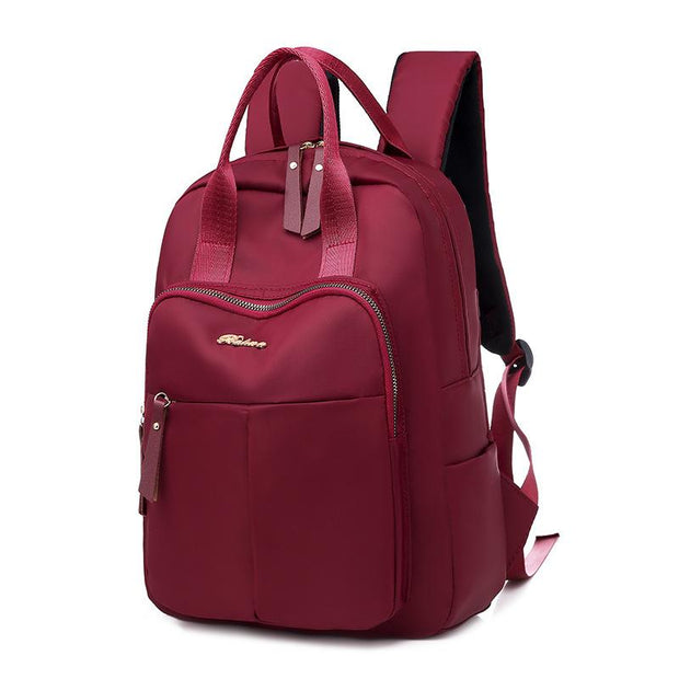 Backpack female  wild large capacity computer bag business Oxford cloth travel 134723