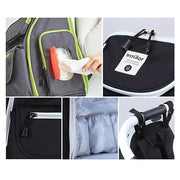 Waterproof nylon mother bag with multi-function and large capacity shoulders 134918