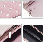 Japan and South Korea single shoulder ladies bag 2018 new fashion simple small pillow bag chain 134645