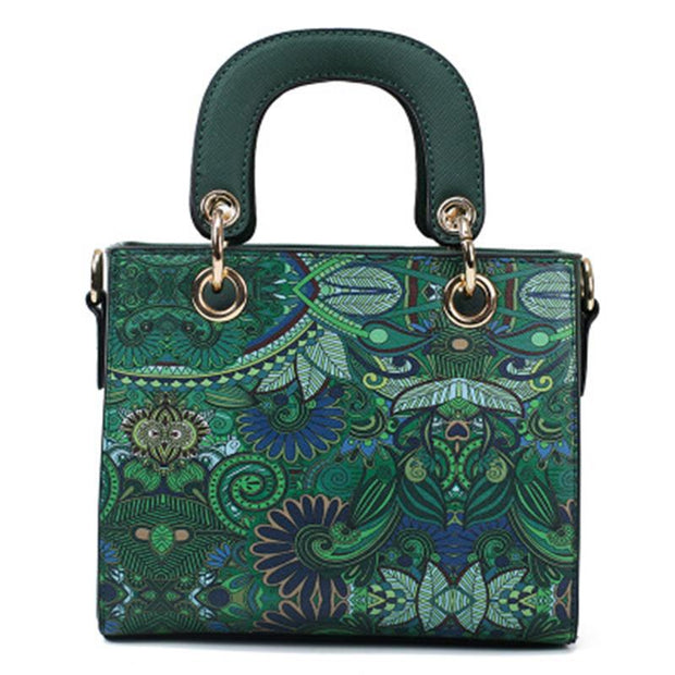Fashion Printed Travel Shoulder Crossbody Handbag