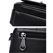 135101 New leather Western style Messenger bag female wild bag soft leather small square bag
