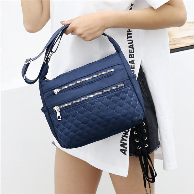135108 Fashion lightweight large capacity nylon cloth bag female casual wild shoulder bag outdoor