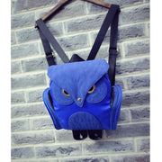 135142 Fashion casual women's bag simple wild owl backpack sewing